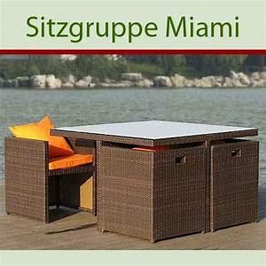 Rattan Sitzgruppe Garten : gartenmobel kunststoff rattan ~ Whattoseeinmadrid.com Haus und Dekorationen