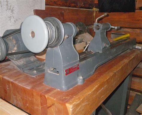 machine idd delta rockwell  wood lathe model
