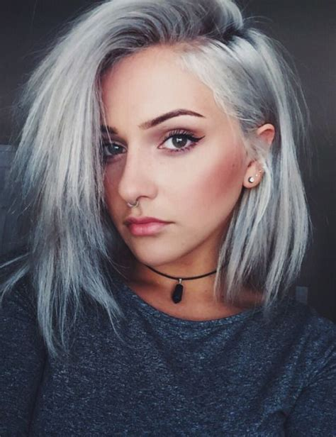 Coloring Hair Grey by Janellyxoxi ॐ Hair Styles