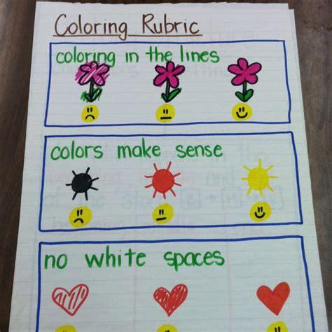 coloring rubric school misc pinterest