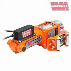 Winch 240v 13a Single Phase 3000lb Genuine Winchmax Brand