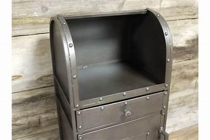 Bedside Industrial Metal Cabinet Cabinets Elderflowerlane Chevet