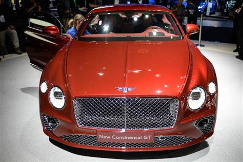 2017 Bentley Continental Gt And Gtc