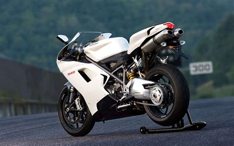 ducati  superbike evo arctic white wallpaper hd