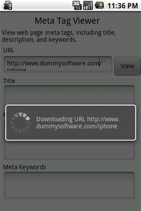 ksoft meta tag viewer view web page meta tags android