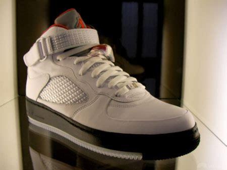 air jordan   air force  fusion sneakerfiles