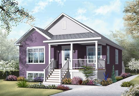 bungalow home plan bedrms baths sq ft
