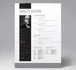 white font resume trick 28 minimal creative resume templates psd word ai free premium templateflip