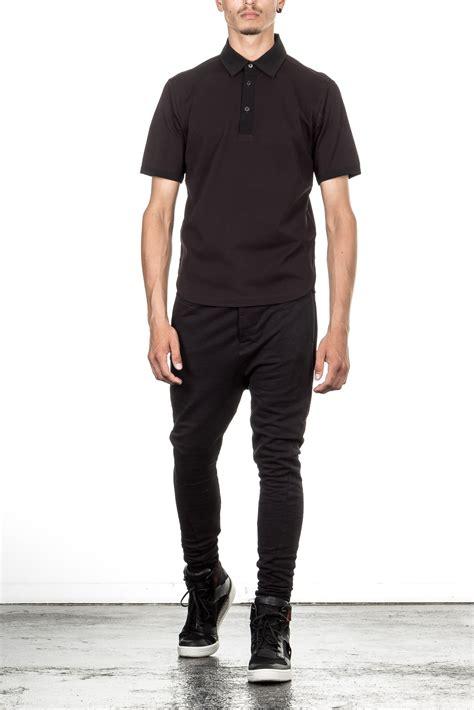 poloshirt herren schwarz y 3 herren polo shirt schwarz luxuryloft