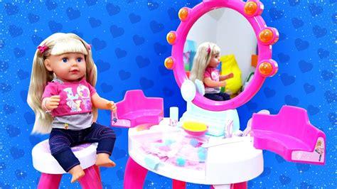 Juego de peluquería de Barbie La muñeca Annabelle Vídeos