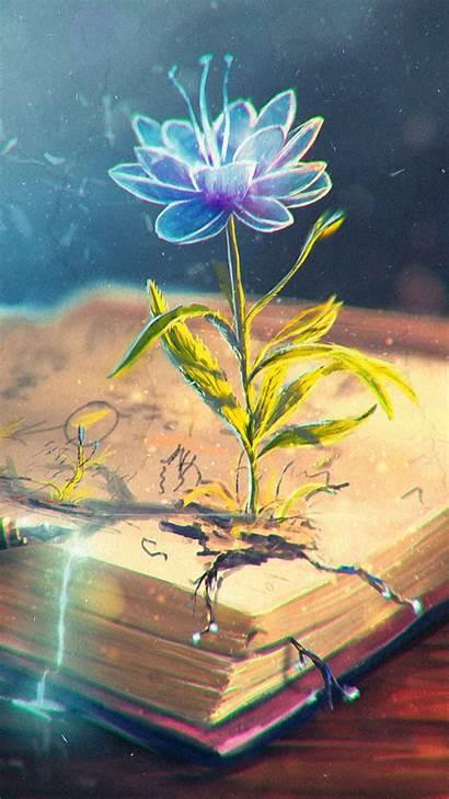 Iphone Abstract Flower Pen Backgrounds Pixelstalk