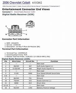 Chevy Cobalt Radio Wiring Diagram