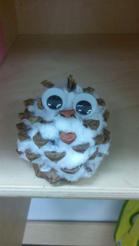 craft ideas as gifts baby snow owl great cheap craft for students 3791
