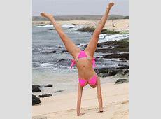 TOWIE's Chloe Sims displays her toned bikini body in a