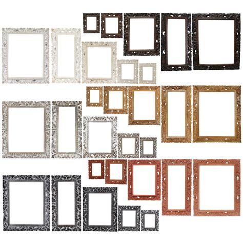 Glas Bilderrahmen Ohne Rahmen by Rustikaler Bilderrahmen Holz Foto Bilder Rahmen