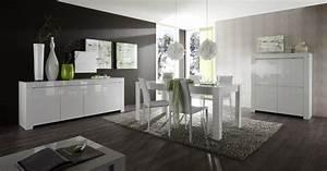 top 4 de nos salles a manger design le blog matelpro With meuble salle À manger avec chaise blanche de salon
