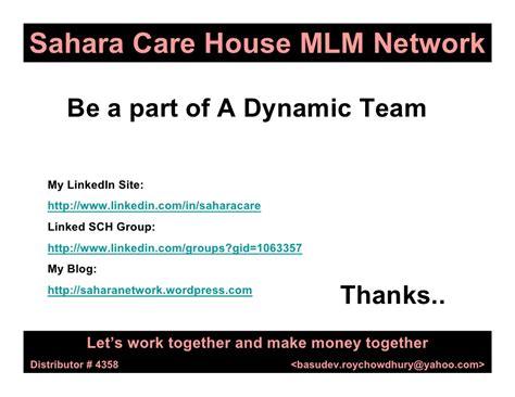 Sahara mlm business plan