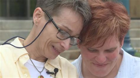 First Same Sex Couple Married In Dane County Celebrate