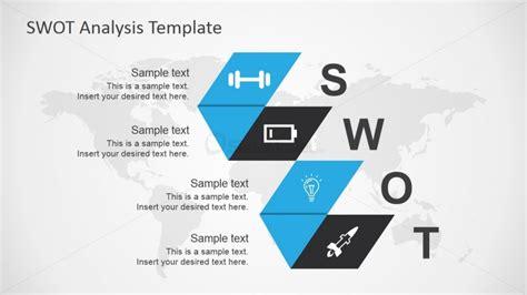 And Blue Analysis by Blue Swot Analysis Ppt Slide Design Slidemodel