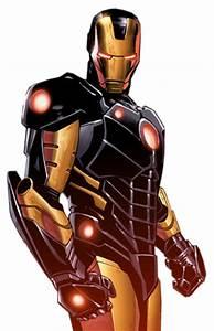 Image - Iron Man Black Suit.png | DBX Fanon Wikia | Fandom ...