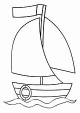 Sail Coloring sketch template