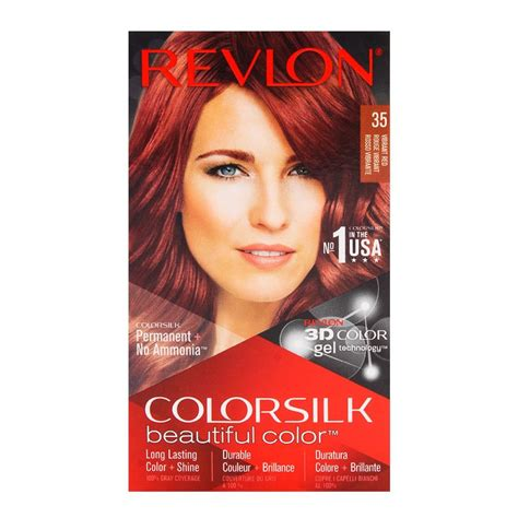 buy revlon colorsilk vibrant red hair color