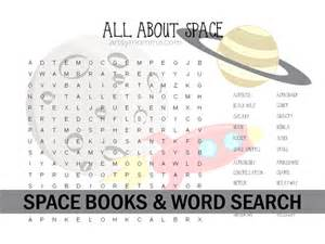 Space Word Searches Printables