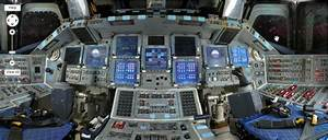 Space Shuttle Cockpit Poster - Pics about space