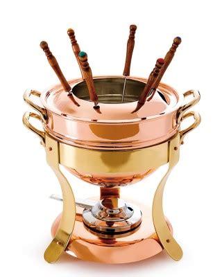 mauviel copper fondue pot  stand williams sonoma