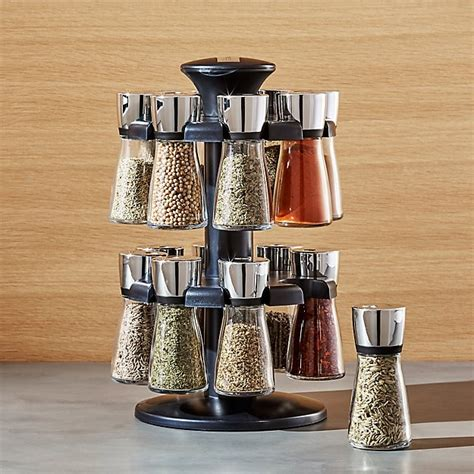 16 Jar Spice Rack by Cole And 16 Jar Herb And Spice Rack Crate And Barrel