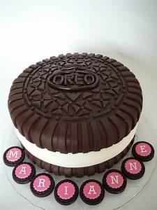 Oreo Cookie Cake - CakeCentral com