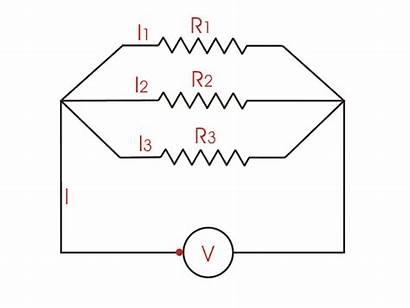Parallel Circuit Electrical Dc Resistors Connection Circuits