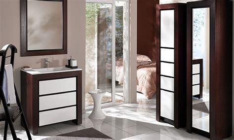 meuble salle de bains ch 234 ne blanc decotec vend 244 me espace aubade