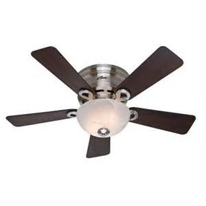 hunter tamarind 42 in indoor brushed nickel ceiling fan