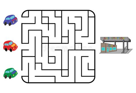 Maze Stock Vector. Illustration Of Mystery, Exit