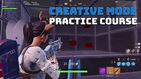 creative mode aim  edit practice  fortnite