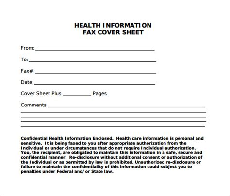 blank fax cover sheets samples examples format