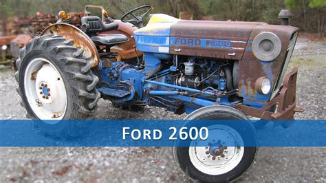 ford  tractor parts youtube