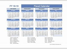 Fiscal Planner Template 2018 Free Printable Templates