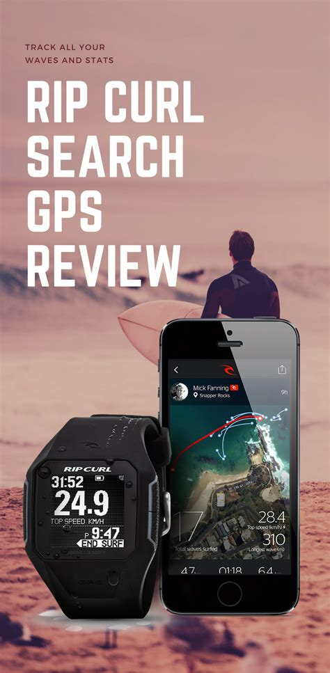 Rip Curl Search Gps Watch Review  The Surfing Handbook
