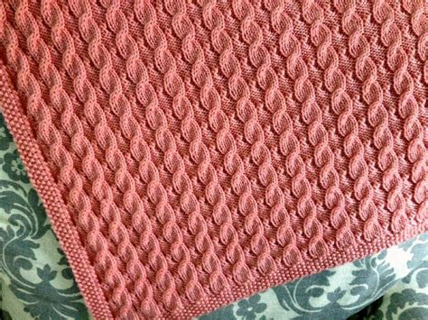 Scarlett's Reversible Cable Baby Blanket Knitting Pattern By Suzanne Bryan The Brave Little Toaster Blanket Red Hot Chili Peppers Frost Blankets For Fruit Trees Knitted Babies Emergency Foil Merino Wool Baby How To Get Dog Hair Off Of With Holes