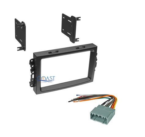 Double Din Install Stereo Dash Kit Harness For