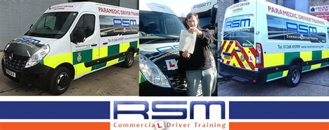 ambulance driver courses in essex rsm