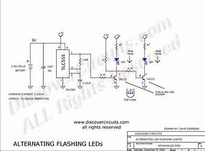 Wig  Wag Led Flashers - Led And Light Circuit