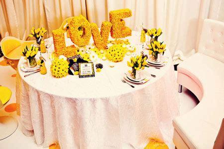 decoration mariage jaune orange mariage toulouse