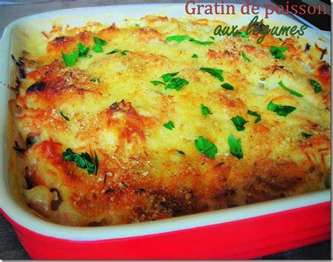 recette cuisine provencale gratin de poisson sauce bechamel le cuisine de samar