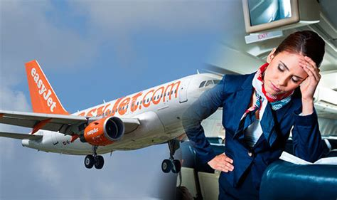 Easy Jet Cabin Crew Easyjet Cancels Spain Flight Because Crew Are Tired