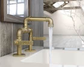 cool kitchen faucets industrial style faucets by watermark to give your plumbing the cool look you always wanted