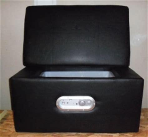 heineken speaker cooler ottoman