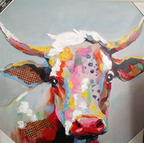 colorful cow painting colorful cows recipe dishmaps